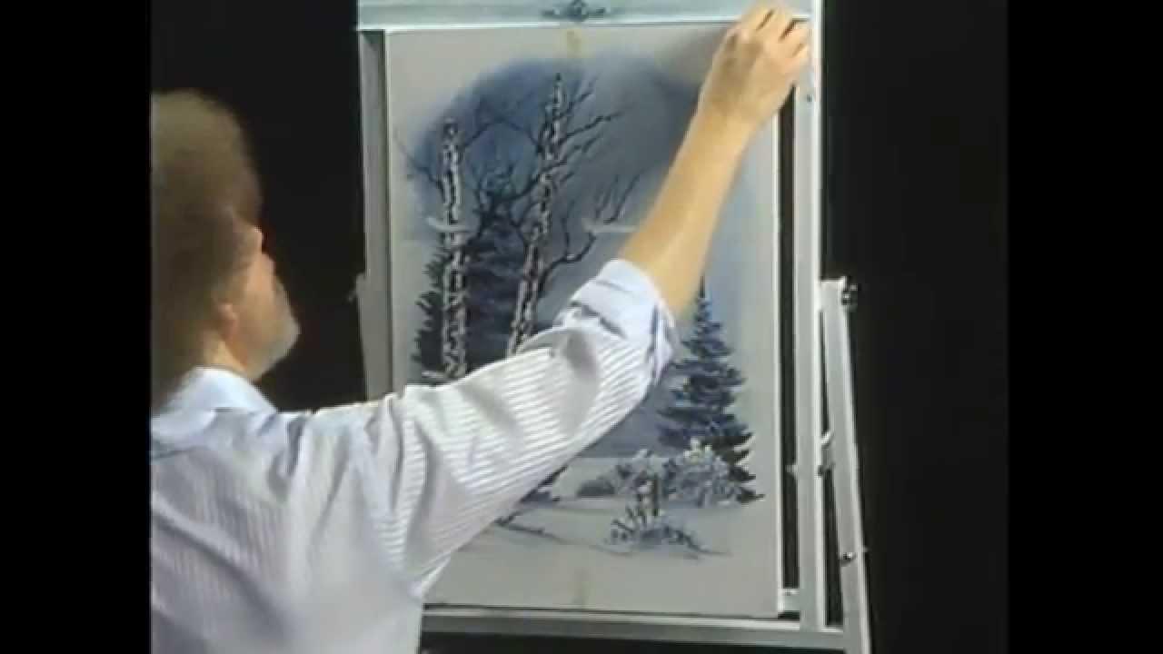 7cc3f3b96 Bob Ross: The Joy of Painting - A Window on Winter - YouTube
