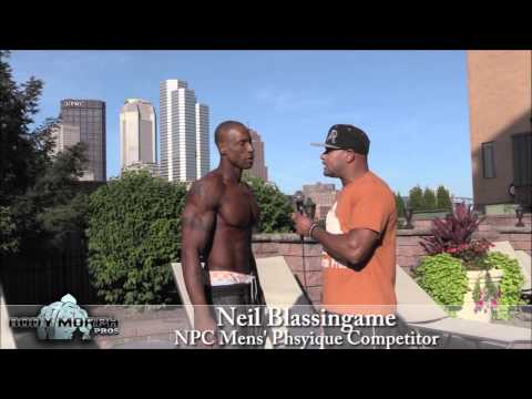 Neil Blassingame at the 2014 IFBB North Americans