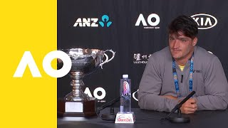Gustavo Fernandez press conference (F) | Australian Open 2019