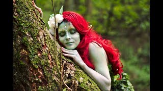 Forest Elf makeup tutorial photo and video shoot
