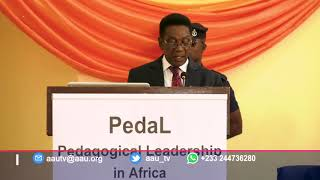 AAU TV Coverage of PedaL: Effective Teaching in African Universities by Hon. Prof. Kwesi Yankah