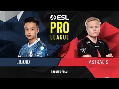 CS:GO - Liquid Vs. Astralis [Overpass] Map 1 - Quarter-Final - ESL Pro League Season 9