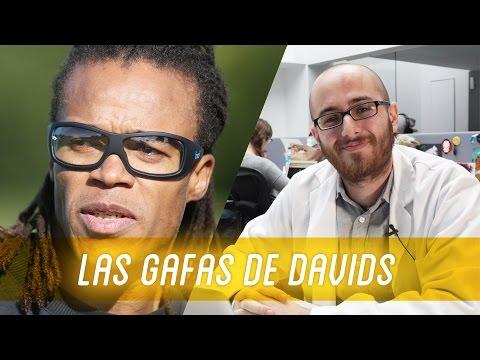 ¿Por qué lleva gafas EDGAR DAVIDS?