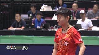 女子シングルス決勝 孫穎莎(中国)vs 陳夢(中国)第6ゲーム
