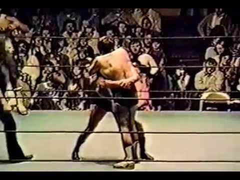 Johnny Weaver & Skip Young  vs  Mr  X 1 & Mr  X 2  1977