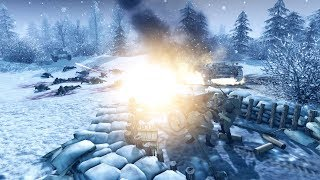 Troops Build Moscow Defense Line 1941 | Men of War: Assault Squad 2 Gameplay