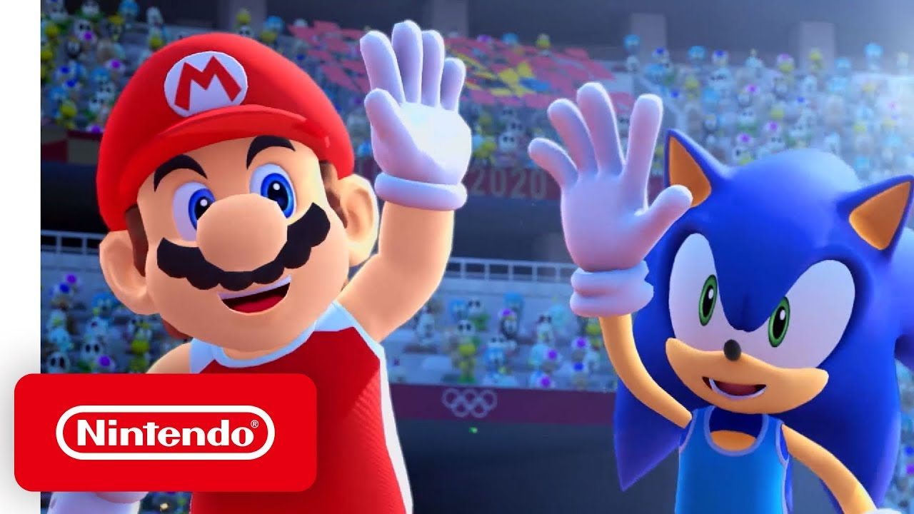 Mario And Sonic At The Olympic Games 2020.Mario Sonic At The Olympic Games Tokyo 2020 Gameplay Trailer Nintendo Switch
