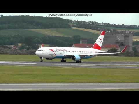 Austrian Airlines Boeing 767 ER Reg: OE-LAW at Vienna International Airport LOWW /  VIE