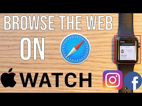 How To Browse The WEB & Social Media On APPLE WATCH SERIES 1-4