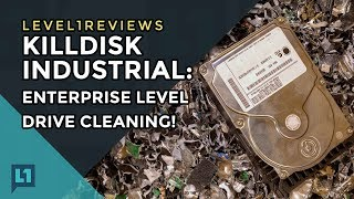 KillDisk Industrial: Enterprise Level Drive Cleaning!