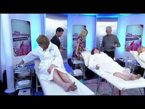 Ollie Locke Demonstrates a Series of Hair Removal Techniques | This Morning