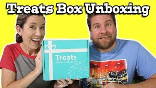 Treats Box Unboxing Candy & Snacks Argentina
