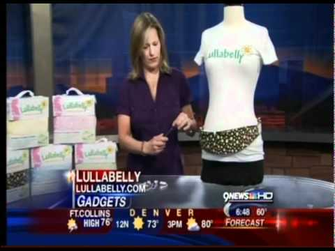 Lullabelly Prenatal Music Belt Featured On NBC In Denver