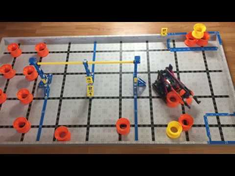 Vex Iq Next Level 6210 Driver Skills Youtube