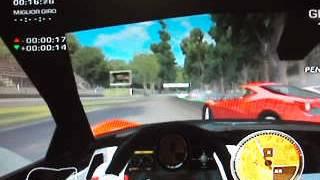wii ferrari the race experience gameplay ITA