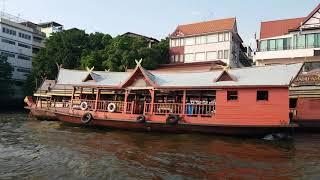 태국 방콕 수상 버스 여행 1   A water bus…