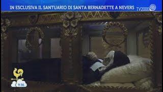 Antonella ventre ci porta nel santuario di santa bernadette a nevers.bel tempo si spera dell'8 dicembre 2017