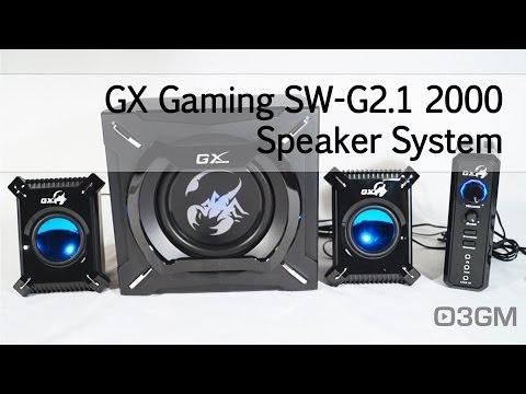 #1620 - GX Gaming SW-G2.1 2000 Speaker System