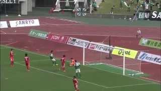 2014 J3 第28節 SC相模原×Jリーグ・U-22 森川泰臣・上村周平出場 #roasso