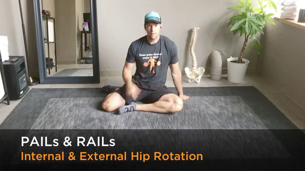 PAILs & RAILs: Hip External and Internal Rotation Mobility