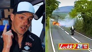 ⚡TT⚡ Cam Donald🇦🇺 talks about Jamie Hamilton's☘️ fiery crash - ISLE OF MAN TT