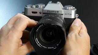 Fuji X-T10 Virtual Tour (POV Fujifilm X-T10) & Fujinon XF 18-55mm f:2.8-4.0 R LM OIS Zoom Lens