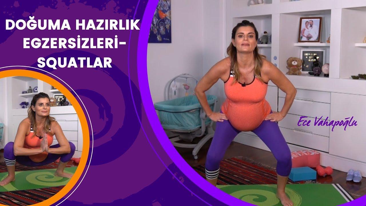 Doğuma Hazırlık Egzersizleri - Squatlar