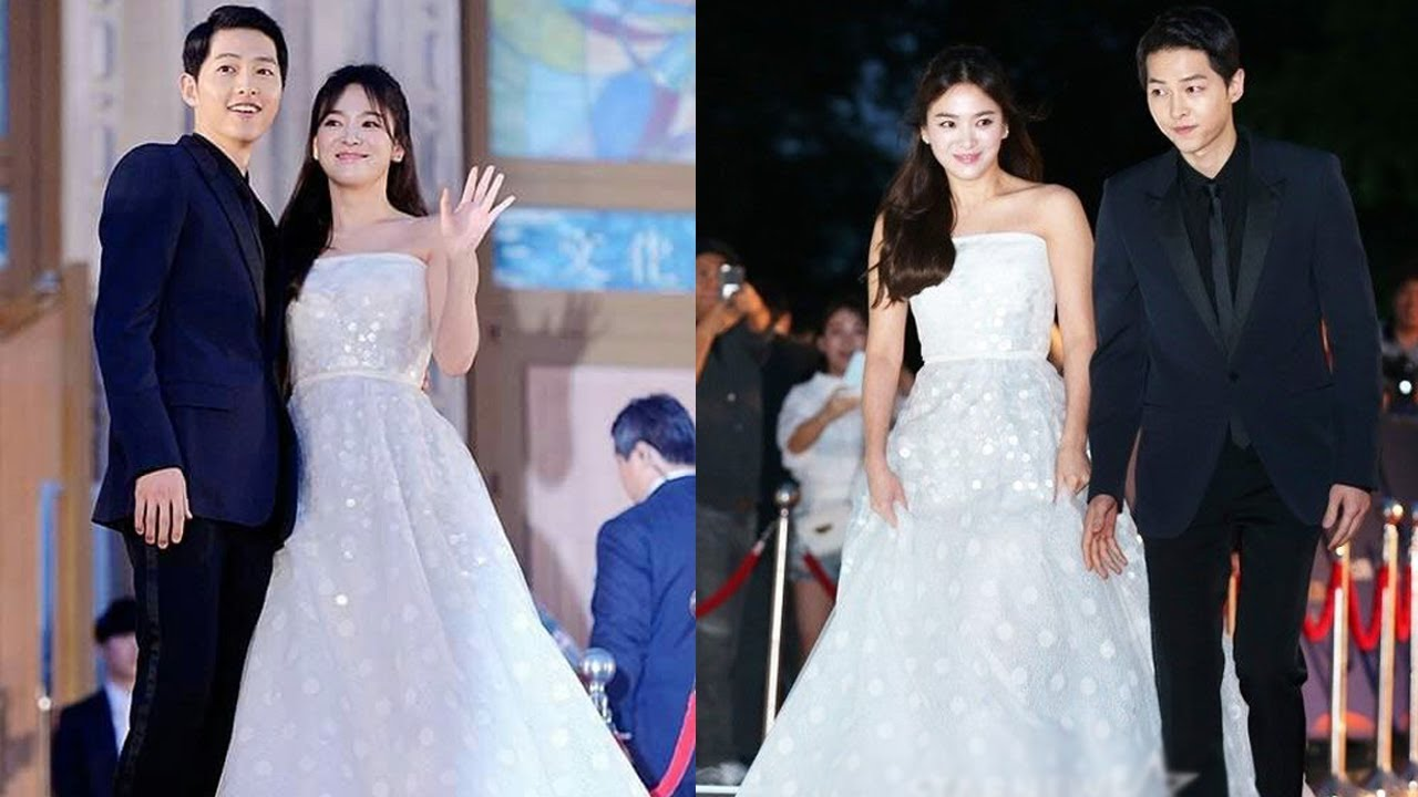 Song Joong Ki And Song Hye Kyo Are Married with Pictures ...