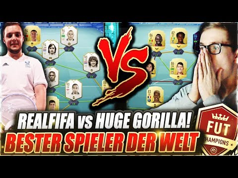 REALFIFA vs HUGE GORILLA IN FUT CHAMPIONS MIT 300K TEAM! 🔥🔥 FIFA 19 Ultimate Team - Weekend League