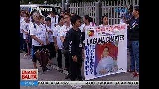 UB: Marcos loyalists, nasa Libingan ng mga Bayani para sa ika-100 kaarawan ni dating Pang. Marcos