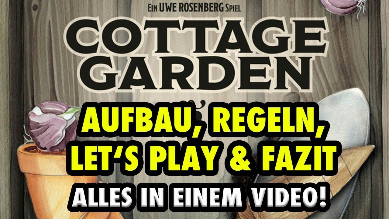 Cottage Garden Aufbau Regeln Lets Play Solo Fazit Uwe