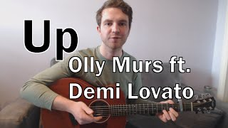 Up - Olly Murs ft. Demi Lovato (Guitar Lesson/Tutorial) with Ste Shaw