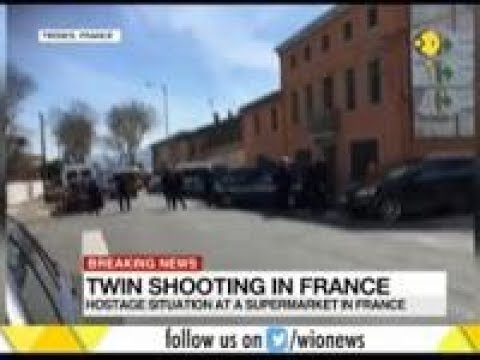 Hostage situation at a supermarket in France