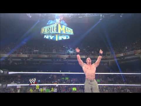 A look at the WrestleMania 29 WWE Championship Match between The Rock and John Cena: Raw, March 11, thumbnail
