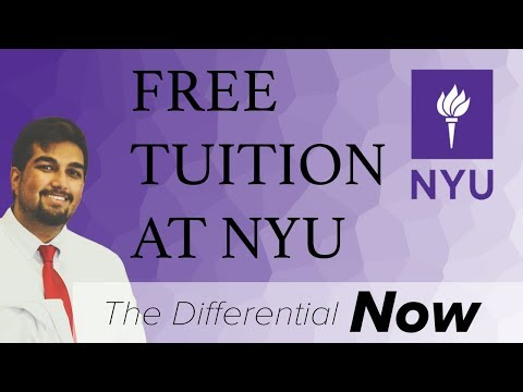 Med student discusses free tuition at NYU | The Differential