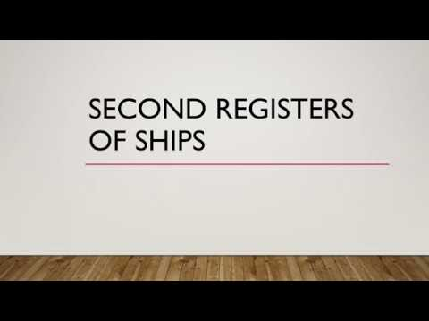 Second registers of vessels - How are they different from flags of convenience?