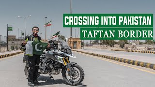 Crossing into Pakistan EP. 50 | Taftan Border Pakistan Iran | Motorcycle Tour Germany to Pakistan