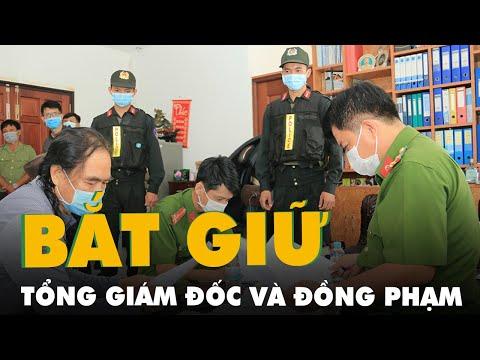 Bắt tổng giám đốc Công ty cổ phần Việt An cùng nhiều giám đốc là đồng phạm