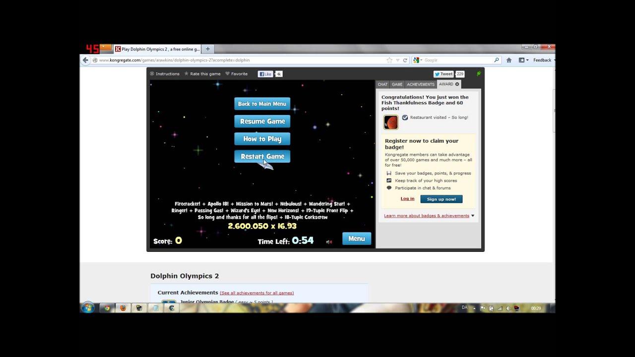 Dolphin Olympics 2 Cheat Engine 6.2 Hack |HD| - YouTube