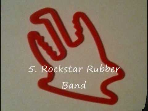 Rare silly bandz top 20