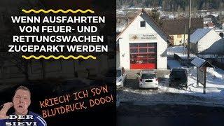 Wenn Ausfahrten von Feuer- und Rettungswachen zugeparkt werden