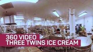 Three Twins Ice Cream factory in 360