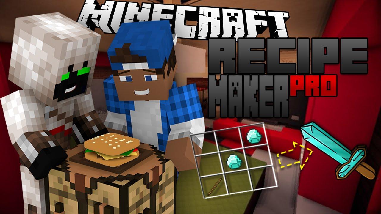 Download Recipe Maker Pro Plugin | Minecraft
