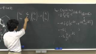 電子物性論(4):グラフェンの電子状態(Tight-Binding Model)