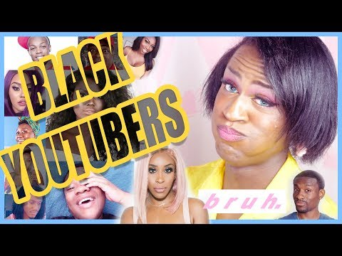 REACTING TO 26 BLACK YOUTUBERS!!!