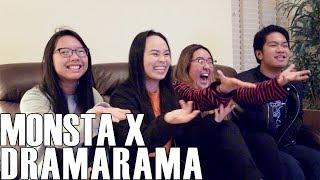 Monsta X (몬스타엑스) - Dramarama (Reaction Video)