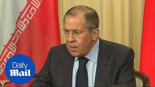Russian Foreign Minister says missile strike aggravated situation - Daily Mail