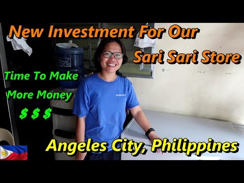 NEW INVESTMENT = MORE MONEY FOR OUR SARI SARI STORE : Angeles City, Philippines from YouTube · Duration:  17 minutes 15 seconds