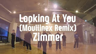Looking At You (Moullinex Remix) - Zimmer / Linda Choreography / 고릴라크루댄스학원 단국대점(죽전)