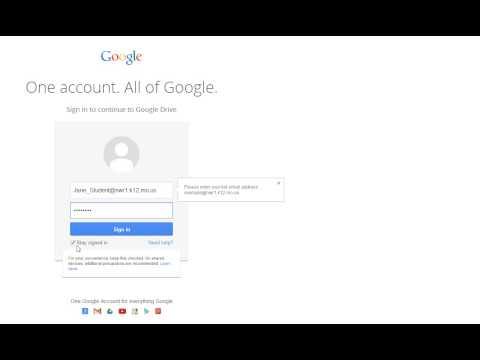 how to change accounts on google drive